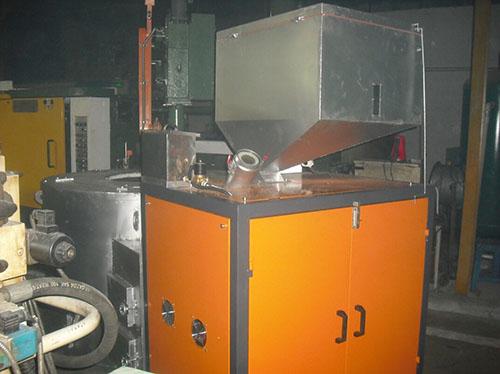 生物颗粒热水炉